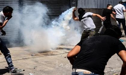 رام الله: قوات الاحتلال تطلق النار تجاه شبان في قرية النبي صالح
