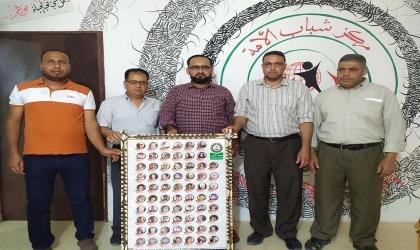 غزة: مركز شباب الأمة ينفذ الحفل السنوي الأول لتكريم أمهات وزوجات الأسرى في خان يونس