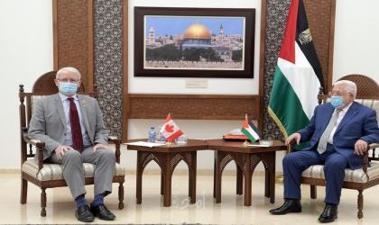 خلال استقباله وزير الخارجية الكندي..الرئيس عباس: التزام فلسطين بتكريس الديمقراطية وسيادة القانون