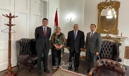 تفاصيل لقاء القنصل العام المصري في لندن برئيسة الجالية بأيرلندا الشمالية