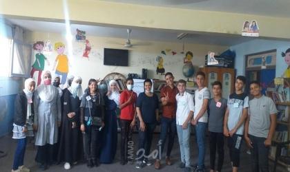 """جمعية شرق غزة لإنماء الاسرة تختتم المرحلة الأولى من مبادرة """" رواد """""""
