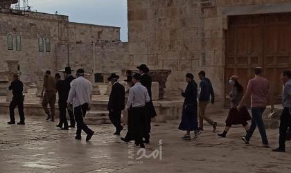 """القدس: عشرات المستوطنين يقتحمون ساحات """"المسجد الأقصى"""""""