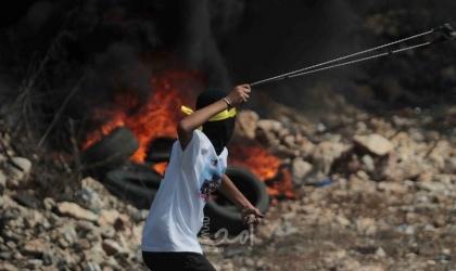جنين: عشرات الاصابات باندلاع مواجهات مع قوات الاحتلال في يعبد