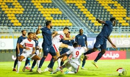 الزمالك يستهل حملة الدفاع عن لقب الدوري بثنائية بيضاء في إنبي