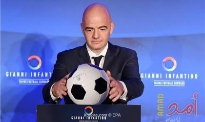 رئيس الاتحاد الدولي لكرة القدم العالمي يزور إسرائيل ..والسلطة ترفض استقباله