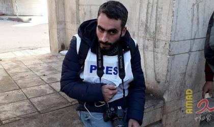 """منتدى الاعلاميين يدين اعتقال الصحفي """"مصعب شاور"""" من الخليل"""