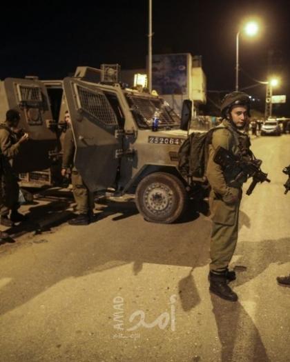إصابات بالاختناق خلال مواجهات مع قوات الاحتلال في بيت أمر