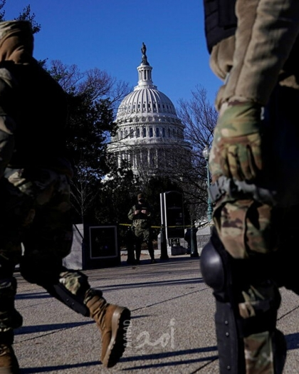 تعزيز الأمن في محيط الكابيتول استعدادًا لمظاهرات أنصار ترامب