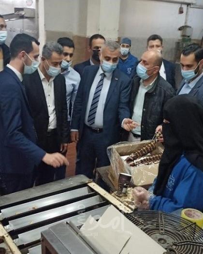 غزة: العمل الحكومي واقتصاد حماس يؤكدان على استمرار دعم المنتجات الوطنية وتطويرها