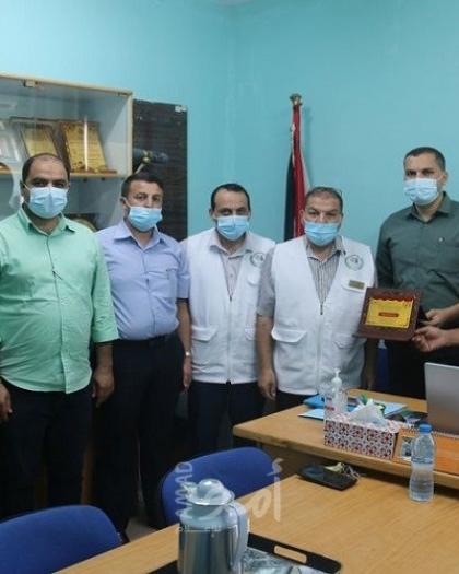 مؤسسة إبداع ومنتدى الشباب الحضاري يكرمان وزارة الصحة بغزة