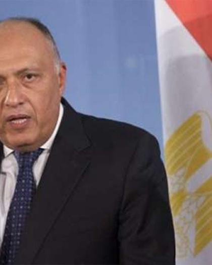 شكري: حريصون على تثبيت الهدنة في غزة وإطلاق مسار المفاوضات